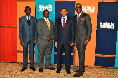 amos winbush in Malaria No More 10th Anniversary Gala