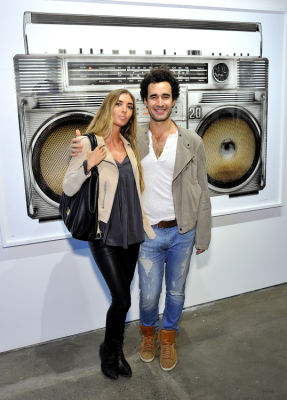 karlie hennerman in Eagle Hunters exhibition opening at Joseph Gross Gallery