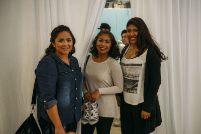 daynna henao-arias in Prom Preview Runway Show for Outstanding Local Students at The Shops at Montebello