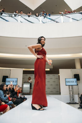 leslie ceja in Prom Preview Runway Show for Outstanding Local Students at The Shops at Montebello