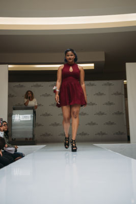 kimberly paniagua in Prom Preview Runway Show for Outstanding Local Students at The Shops at Montebello