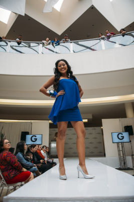 chabblie coronado in Prom Preview Runway Show for Outstanding Local Students at The Shops at Montebello