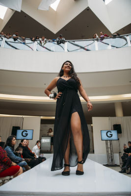 naydelyn cruz in Prom Preview Runway Show for Outstanding Local Students at The Shops at Montebello