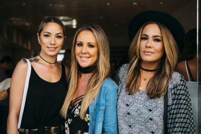 lyndsay zavitz in Pre-Coachella Beauty Lounge at Brighton Salon with the #RIOTGirls