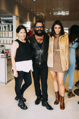 jesse emerson in Pre-Coachella Beauty Lounge at Brighton Salon with the #RIOTGirls
