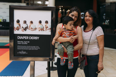 marisol equihua in The Shops at Montebello Diaper Derby Event 2016