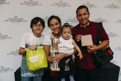 jose abarca in Inside The Shops At Montebello Diaper Derby Event