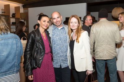 nathalie pouille-zapata in A Street Af(fair) Opening Party