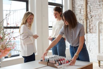 nadine abramcyk in The Pros Behind Tenoverten Take Us Inside The Chicest Nail Salon In New York