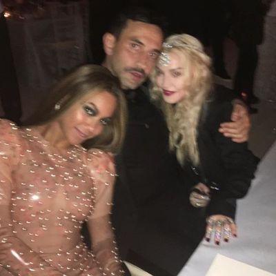 Beyonce, Riccardo Tisci, Madonna