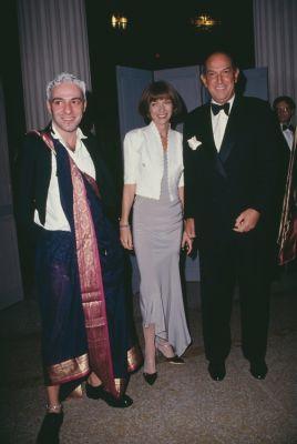 John Galliano, Anna Wintour, Oscar de la Renta