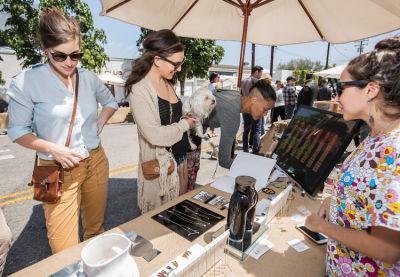allie pohl in West Hollywood Design District A Street Af(fair)