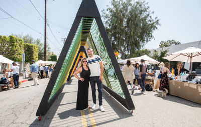 danielle whitaker in West Hollywood Design District A Street Af(fair)