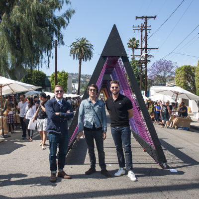 raan parton in West Hollywood Design District A Street Af(fair)