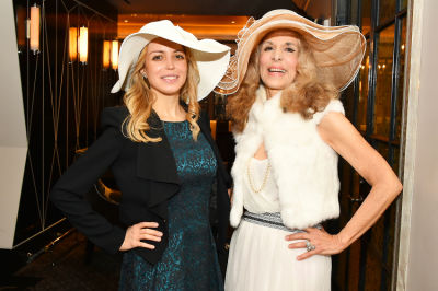 julianne michelle in New York Philanthropist Michelle-Marie Heinemann hosts 7th Annual Bellini and Bloody Mary Hat Party sponsored by Old Fashioned Mom Magazine