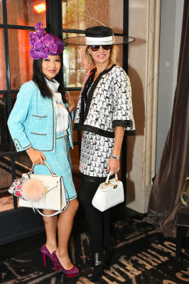 tina storper in New York Philanthropist Michelle-Marie Heinemann hosts 7th Annual Bellini and Bloody Mary Hat Party sponsored by Old Fashioned Mom Magazine