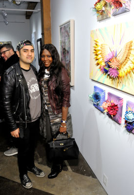 mary dyann-kees in Art LeadHERS Exhibition Opening at Joseph Gross Gallery