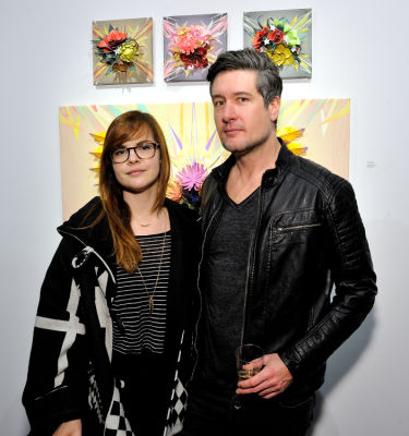 aaron kobilis in Art LeadHERS Exhibition Opening at Joseph Gross Gallery