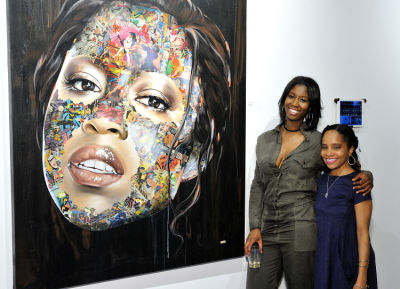 ronnette griffith-taylor in Art LeadHERS Exhibition Opening at Joseph Gross Gallery