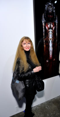 alley ninestein in Art LeadHERS Exhibition Opening at Joseph Gross Gallery