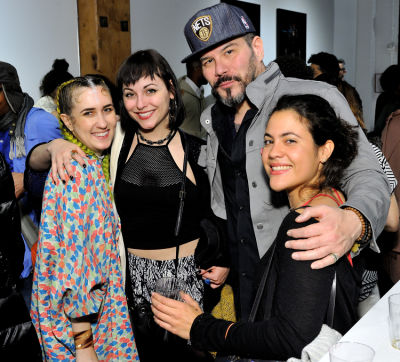 lala abaddon in Art LeadHERS Exhibition Opening at Joseph Gross Gallery