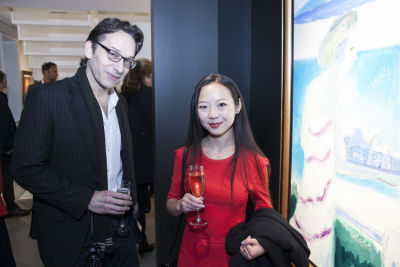 zoe yang in Grand Opening Exhibition at Opera Gallery
