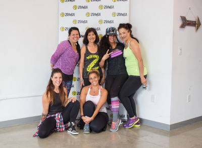 joy taniguchi in  Zumba and Yoga at LA Mother