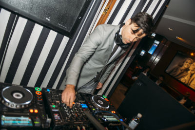 dj bonds in Humans for Humanity WLWG Red Carpet Soiree