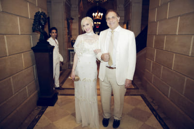 bruce vanyos in Best Dressed Guests: The 2016 Frick Collection Spring Garden Party