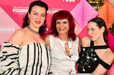 debi mazar in Inside The Totally '80s Lower Eastside Girls Club Spring Fling 2016