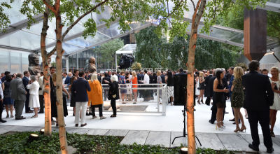 monet march in MoMA Party in the Garden 2016