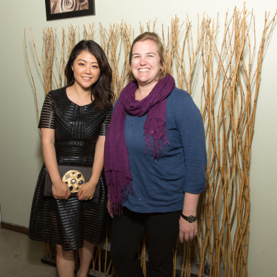 Andrea Chung, Heather Toll