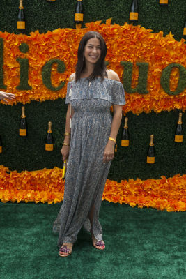 rebecca minkoff in Veuve Clicquot Polo Classic 2016