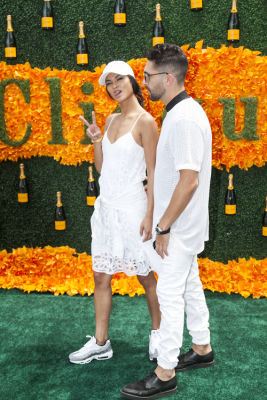 sharina gutierrez in Veuve Clicquot Polo Classic 2016