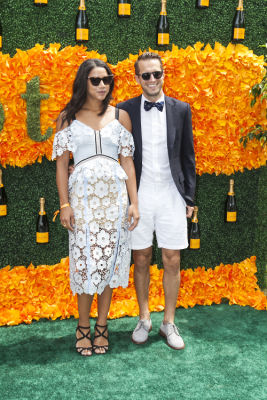 hannah bronfman in Veuve Clicquot Polo Classic 2016