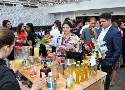 annabella pardo in Guest of a Guest and Cointreau's Exclusive Soiree with Mario Batali at La Sirena