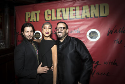 pat cleveland in Pat Cleveland Celebrates Her New Book