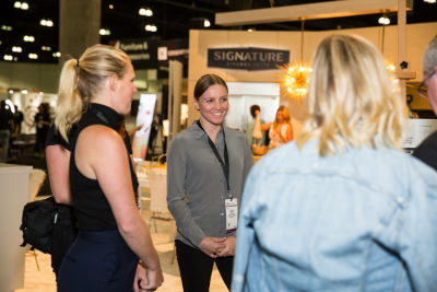 olivia balicki in Signature Kitchen Suite Launching at Dwell on Design