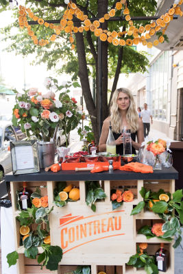 molly guy in Guest of a Guest & Cointreau Throw A Blooming Chicago Soirée