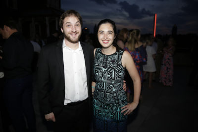 sarah cascone in The Met Young Members Party