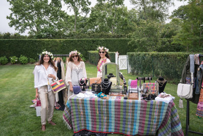 laurie lloyd in B Floral, Liv Cooks, LOVESHACKFANCY, and Joey Wölffer shopping event