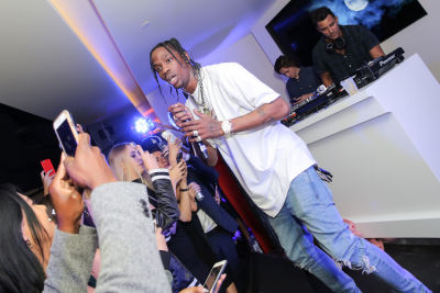 asap rocky in Kendall Jenner hosts The Red Carpet Launch of the OUE Skyspace LA at the US Bank Tower