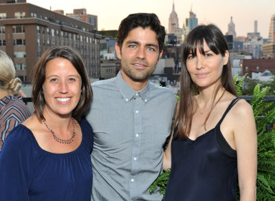 adrian grenier in Inside The Lonely Whale Foundation's First Annual Summer Sunset Dinner