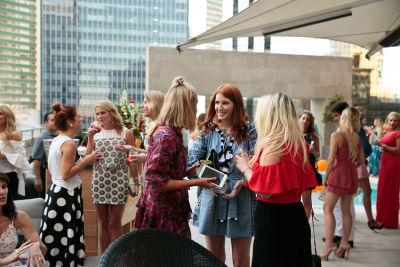 amber venz-box in Guest Of A Guest & Cointreau's Dallas Rooftop Soirée