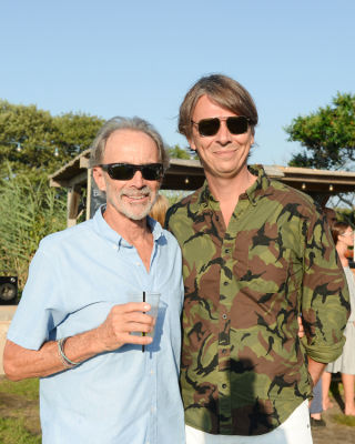 sean macpherson in Guest Of A Guest & Oliver Peoples Host A Paella Party In Montauk