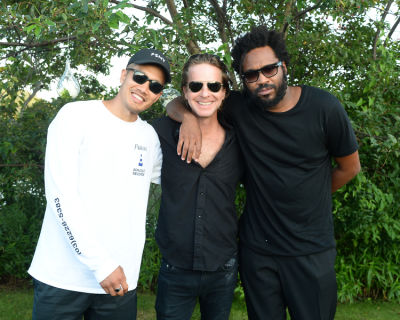 david schulte in Guest Of A Guest & Oliver Peoples Host A Paella Party In Montauk