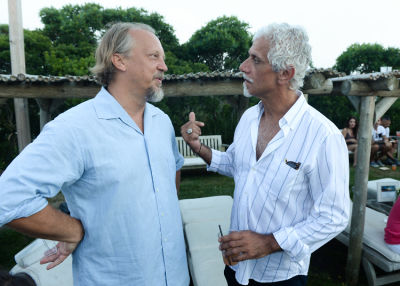 ric pipino in Guest Of A Guest & Oliver Peoples Host A Paella Party In Montauk