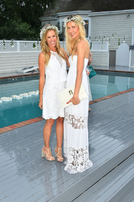 amanda gluck in #‎BLOOMINGENBLANC‬ Summer Soireé