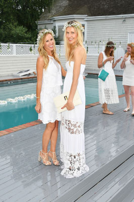 kate rumson in #‎BLOOMINGENBLANC‬ Summer Soireé