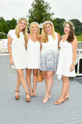 lauren pruner in #‎BLOOMINGENBLANC‬ Summer Soireé